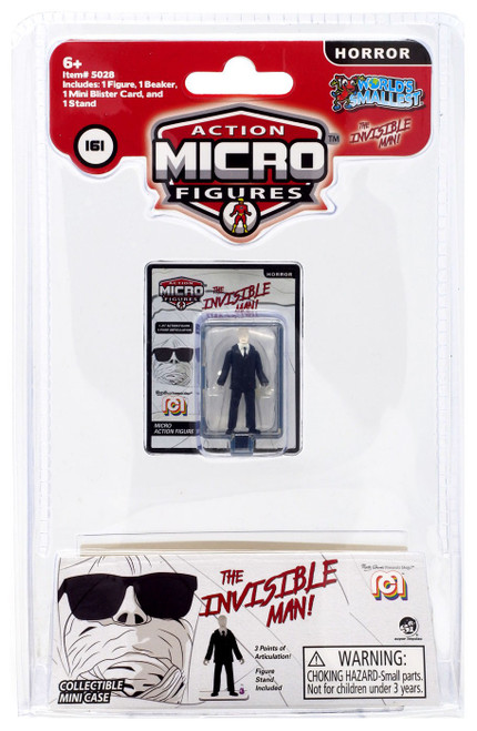 World's Smallest Mego Action Micro Figures The Invisible Man 1.25-Inch Micro Figure