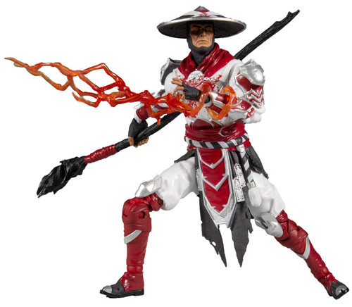 McFarlane Toys Mortal Kombat 11 Series 4 Raiden Action Figure [Bloody]