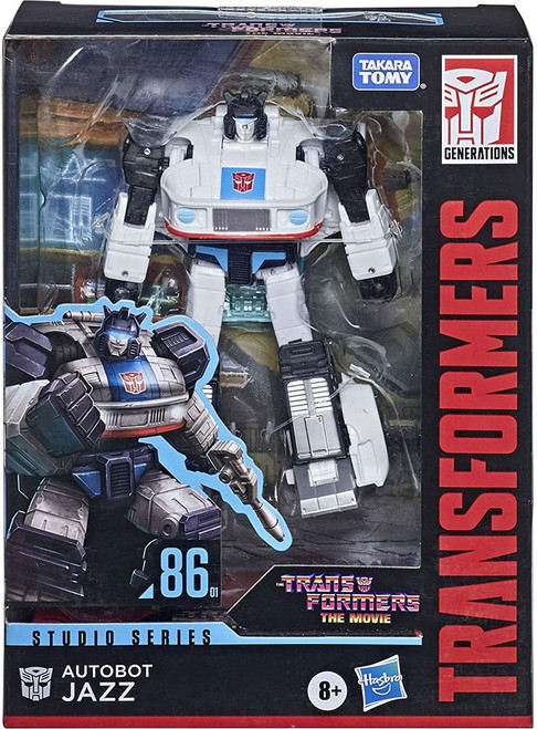 Transformers Generations Studio Series 86 Jazz Deluxe Action Figure (Pre-Order ships February)
