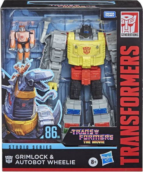 Transformers Generations Studio Series 86-06 Grimlock & Wheelie Leader Action Figure