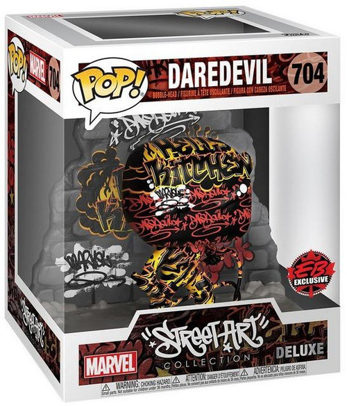 Funko Marvel Street Art Collection POP! Deluxe Daredevil Exclusive Vinyl Figure (Pre-Order ships November)
