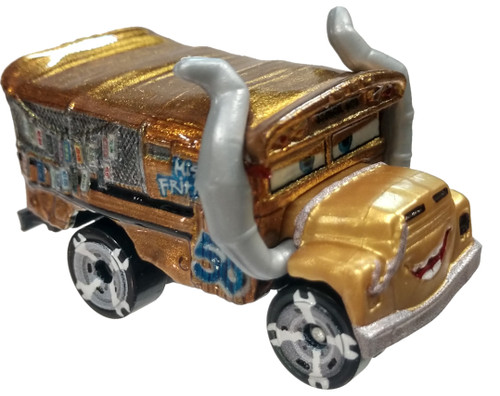 Disney / Pixar Cars Metal Mini Racers Series 5 Metallic Miss Fritter Die Cast Car [Loose]