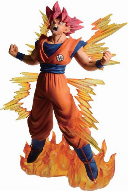 Dragon Ball Super Ichiban Super Sayan God Goku 7.8-Inch Collectible PVC Figure (Pre-Order ships April)