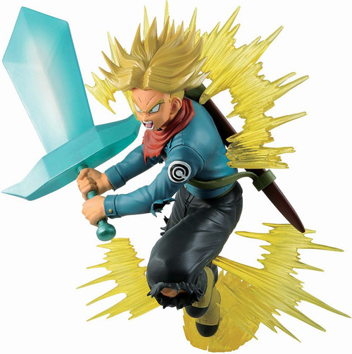 Dragon Ball Super Ichiban Future Trunks Super Sayan 7.8-Inch Collectible PVC Figure (Pre-Order ships May)