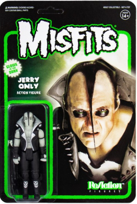 ReAction Misfits Jerry Only Action Figure [Glow in the Dark]