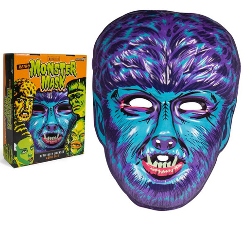 Universal Monsters Wolfman Retro Monster Mask [Blue] (Pre-Order ships October)