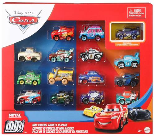 Disney / Pixar Cars Die Cast Metal Mini Racers Mini Racers Variety Exclusive Car 15-Pack