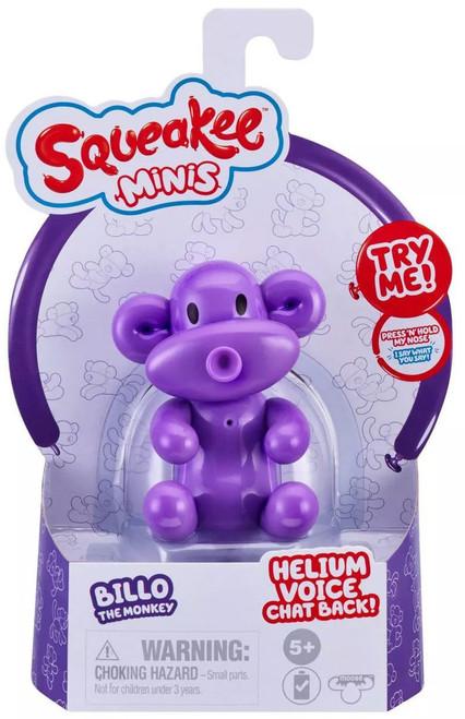 Squeakee Minis Series 1 Billo the Monkey Mini Figure