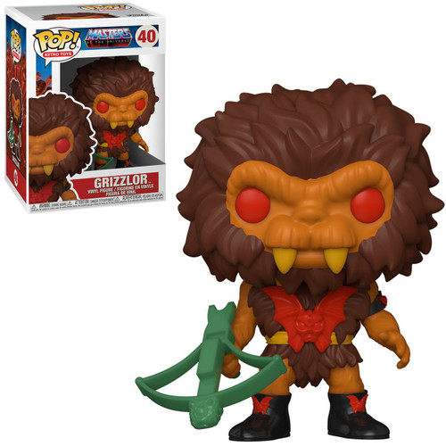 Funko Masters of the Universe POP! Animation Grizzlor Vinyl Figure #40