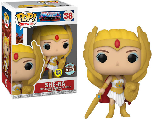 Funko Masters of the Universe POP! TV She-Ra Exclusive Vinyl Figure #38 [Glow-in-the-Dark] (Pre-Order ships January)