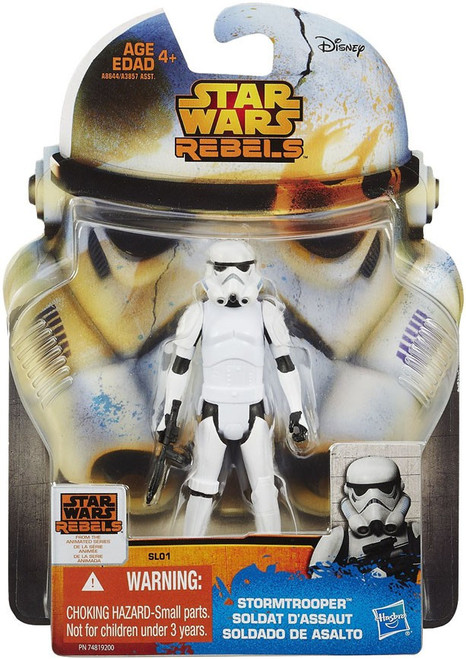 Star Wars Rebels 2015 Saga Legends Stormtrooper Action Figure SL01 [Damaged Package]
