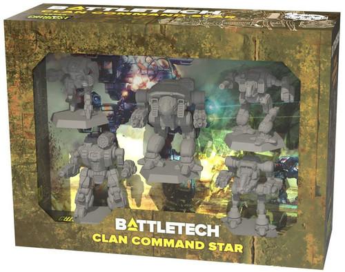BattleTech Clan Command Star Miniature Set