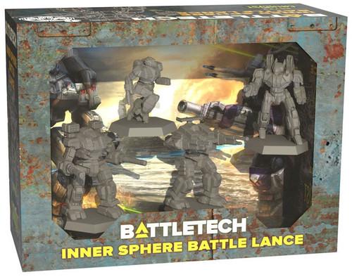 BattleTech Inner Sphere Battle Lance Miniature Set
