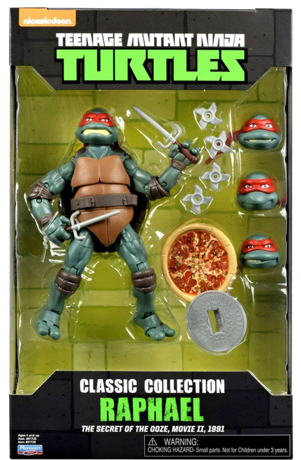 Teenage Mutant Ninja Turtles The Secret of the Ooze Classics Collection Raphael Exclusive Action Figure [Damaged Package]