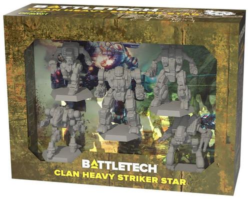 BattleTech Clan Heavy Striker Star Miniature Set