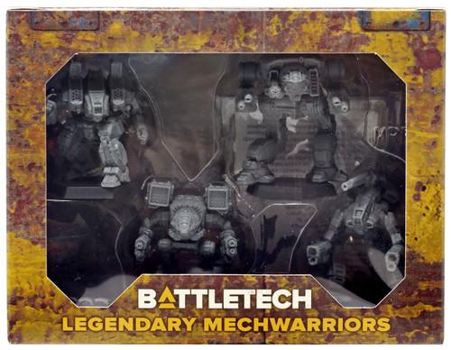BattleTech Legendary Mechwarriors Miniature Set