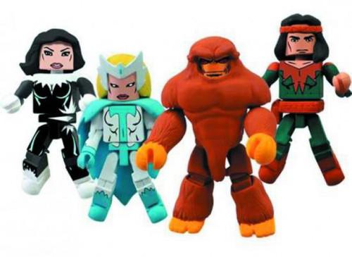 Marvel Minimates Alpha Flight Minifigure 4-Pack #2 [Damaged Package]