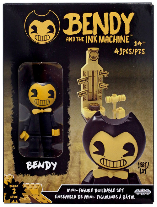 Bendy and the Ink Machine Series 2 Mini Figure Bendy Buildable Set