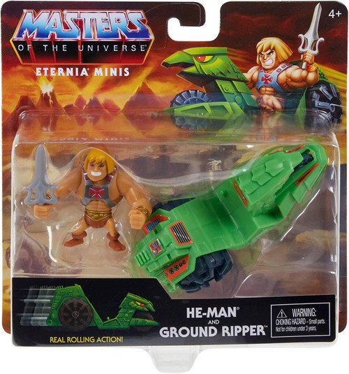 Masters of the Universe Eternia Minis He-Man Figure & Vehicle (Pre-Order ships January)