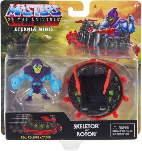 Masters of the Universe Eternia Minis Skeleton & Roton Figure Set