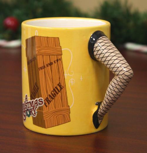 NECA A Christmas Story Sculpted Leg Mug