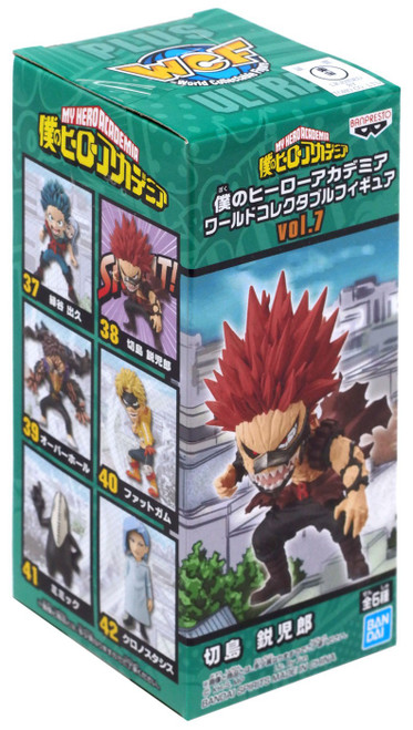 My Hero Academia WCF World Collectable Figure Red Riot 2.75-Inch PVC Figures