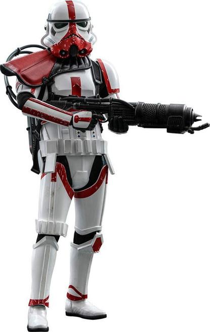 Star Wars The Mandalorian Incinerator Stormtrooper Collectible Figure