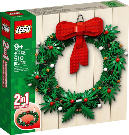 LEGO Seasonal Christmas Wreath 2-in-1 Set #40426
