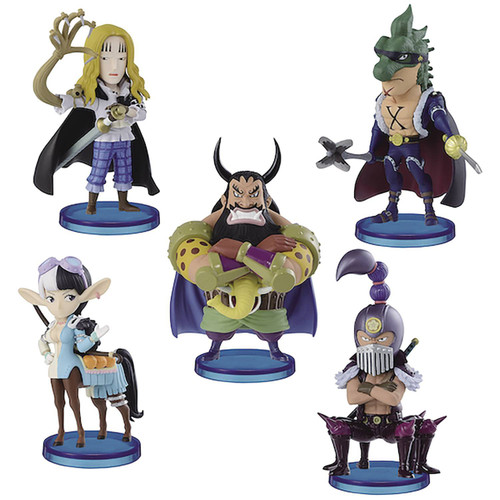 One Piece WCF World Collectable Figure Beasts Pirates Series 2 3-Inch Box (Pre-Order ships May)