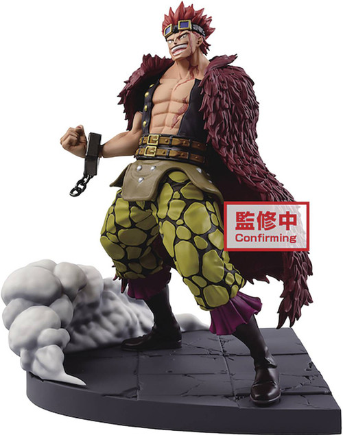 One Piece Log File Selection Eustass Kid 6-Inch Collectible PVC Figure (Pre-Order ships April)