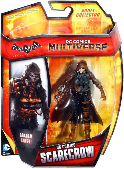 Batman Arkham Knight DC Comics Multiverse Scarecrow Action Figure [Damaged Package]