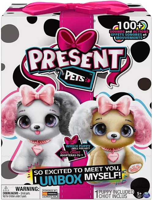 Present Pets Fancy Puppy Mystery Pack [1 RANDOM Figure]