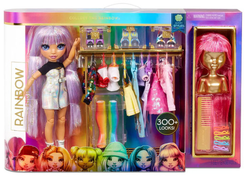 Rainbow High Fashion Studio Avery Styles Exclusive Deluxe Doll