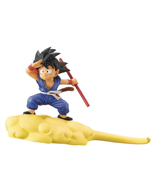 Dragon Ball Goku 5-Inch Collectible PVC Figure [Blue Version] (Pre-Order ships June)
