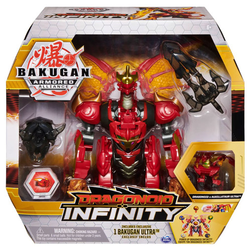 Bakugan Armored Alliance Dragonoid Infinity Deluxe Action Figure
