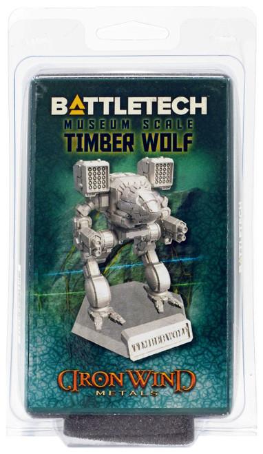 BattleTech Iron Wind Metals Museum Scale Timber Wolf Miniature