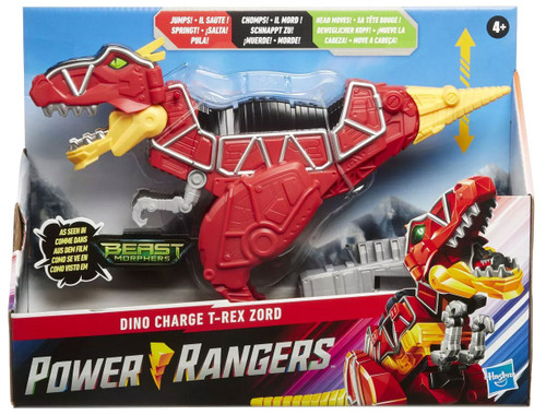 Power Rangers Beast Morphers Dino Charge T-Rex Zord Exclusive Action Figure