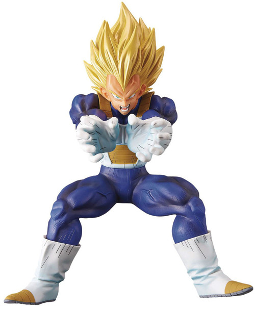 Dragon Ball Legends Collab Series Super Saiyan Vegeta 9-Inch Collectible PVC Figure [Final Flash] (Pre-Order ships November)