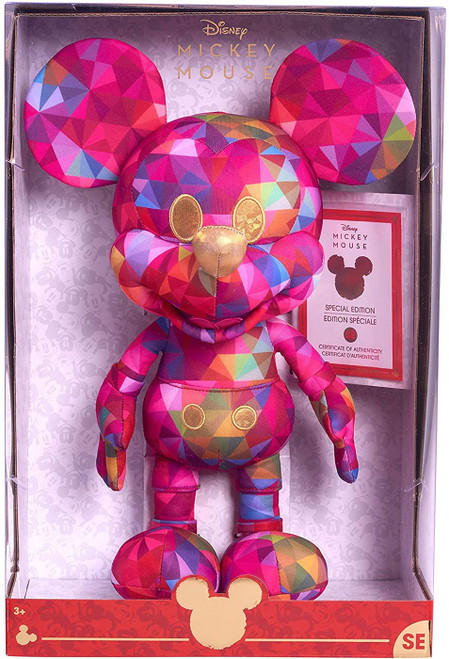 Disney Year of the Mouse Mickey Mouse Exclusive 15-Inch Plush [Kaleidoscope of Color]