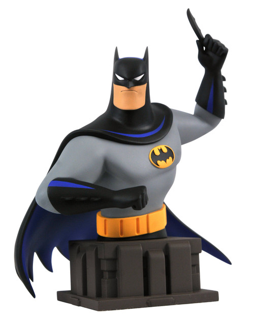 Batman The Animated Series Batman 7-Inch Bust [Batarang] (Pre-Order ships May)