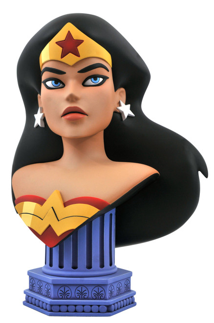 DC Justice League Animated Comic Legends in 3D Wonder Woman Half-Scale Bust (Pre-Order ships April)