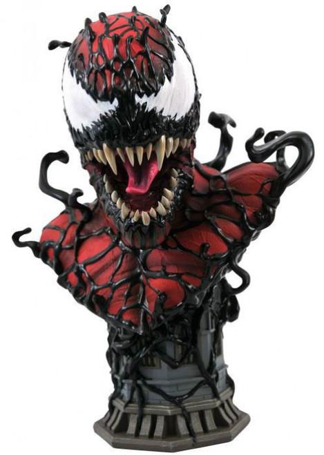 Spider-Man Marvel Legends in 3D Carnage Bust