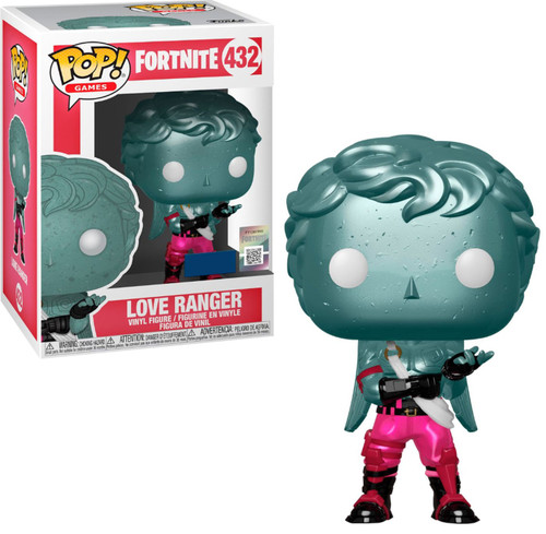 Funko Fortnite POP! Games Love Ranger Exclusive Vinyl Figure #432 [Metallic]