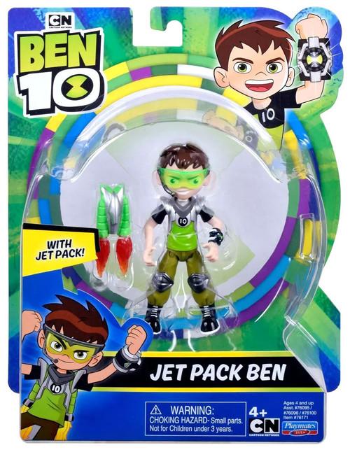 Ben 10 Omni-Kix Armor Jet Pack Ben Action Figure