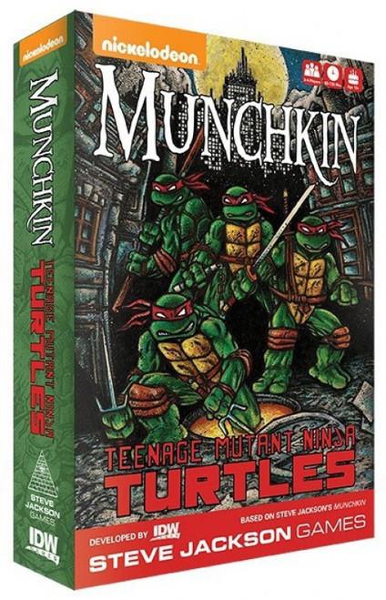 Munchkin Teenage Mutant Ninja Turtles Card Game