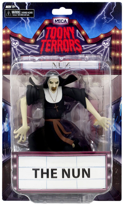 NECA The Conjuring Toony Terrors Series 3 The Nun Action Figure [Glow-in-the-Dark, Chase Version]