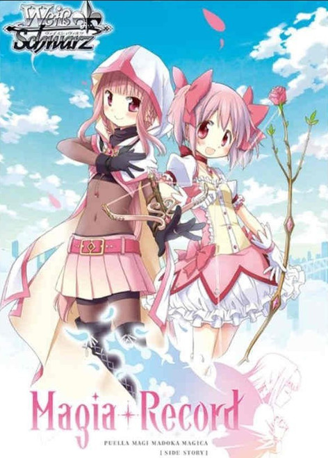 Weiss Schwarz Magia Record Puella Magi Madoka Magica Side Story Booster Box