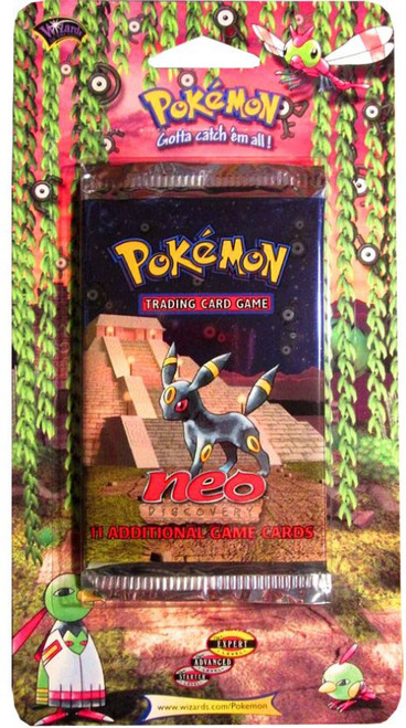 Pokemon Trading Card Game Neo Discovery BLISTER Booster Pack [11 Cards]
