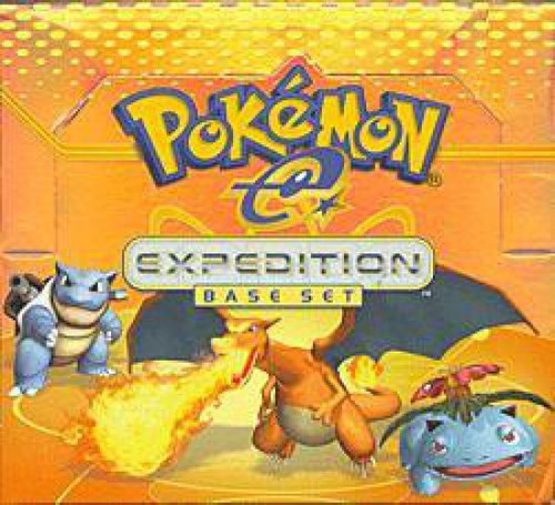 Pokemon Trading Card Game EX Expedition Base Set Booster Box [36 Packs]