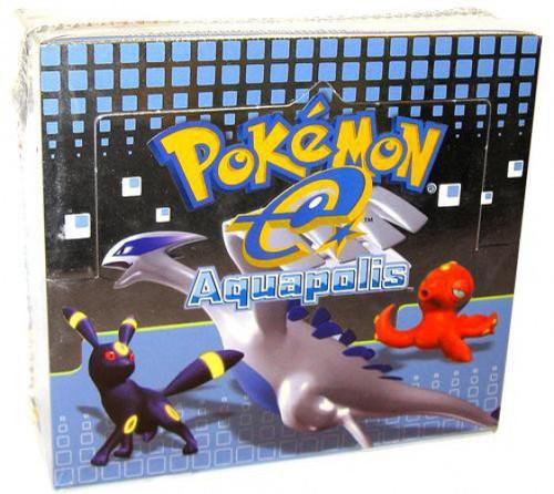 Pokemon Trading Card Game Aquapolis Booster Box [36 Packs]